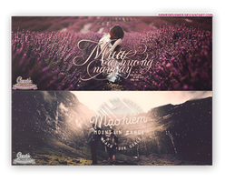 [PSD] Pack Typography ''Discovender'' by GenieDyo