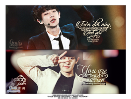 Pack quote Chanyeol - Happy Birthday JulieMin by GenieDyo