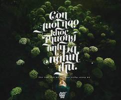 Typography / Con tuoi nao cho em | From.GENIEDYO by GenieDyo
