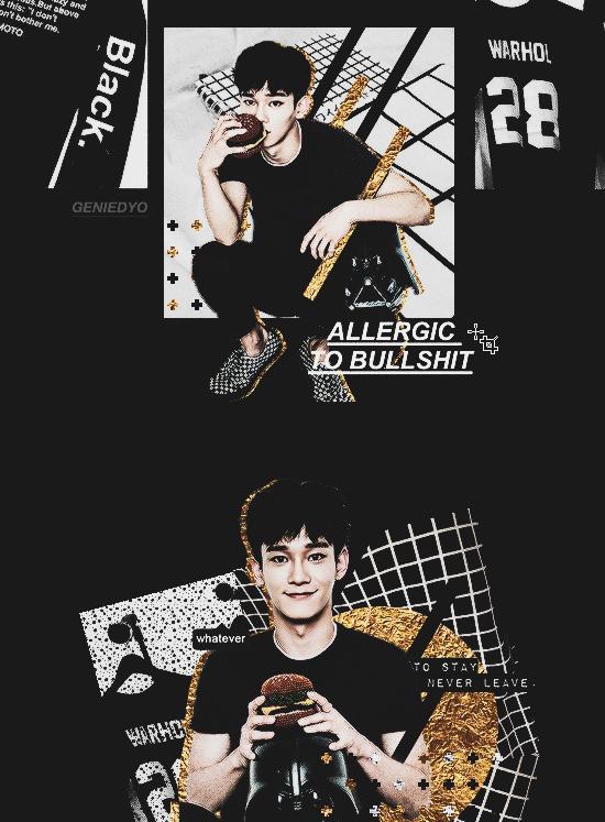 ALLERGIC TO BULLSHIT ft.Jongdae (Tumblr Indie) by GenieDyo