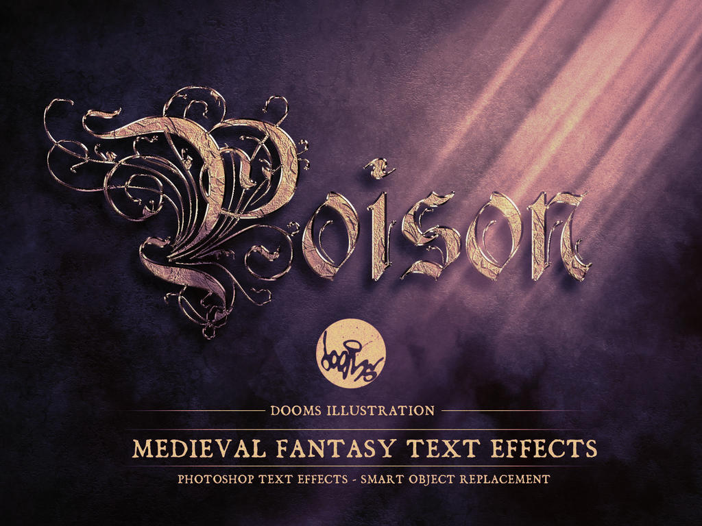 Poison medieval fantasy text effect by doomsillustration on deviantart poison medieval fantasy text effect by doomsillustration baditri Image collections