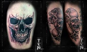 Apprenticeship tattoo 3 and 4