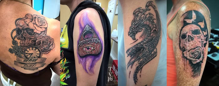 Various Apprenticeship Tattoos-WIP