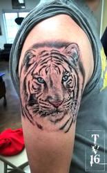 White Tiger-Apprenticeship Tattoo