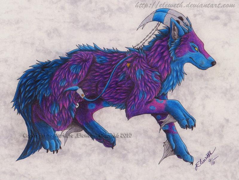 ArtTrade: Soul-of-the-wolf by Eleweth