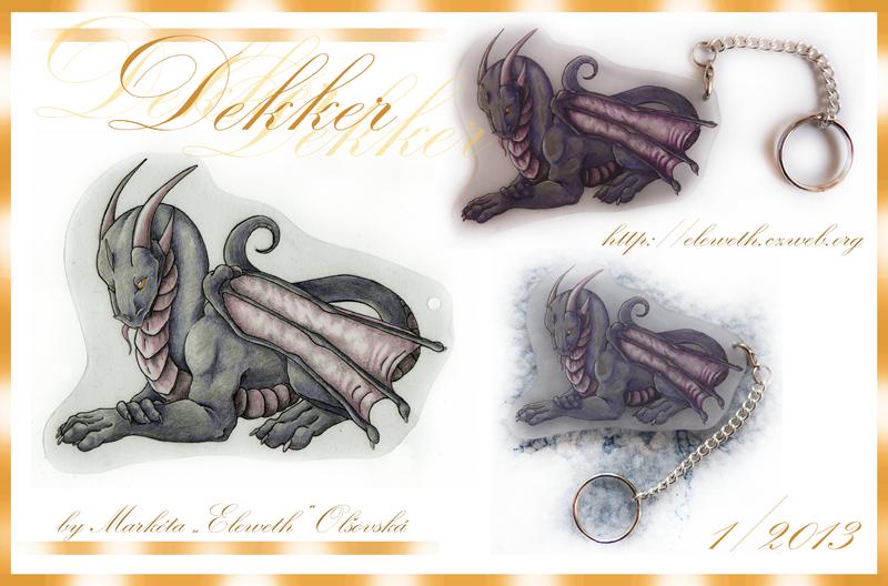 Keychain: Dekker by Eleweth