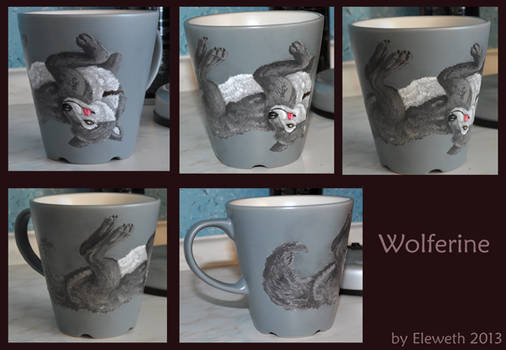 Wolferine mug