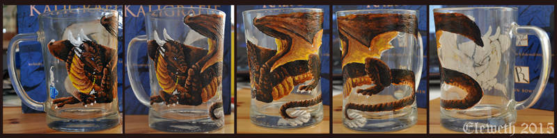 Painted pint: Draconniss