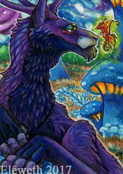 ACEO: Another planet by Eleweth