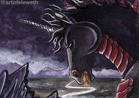 ACEO: Knightmare