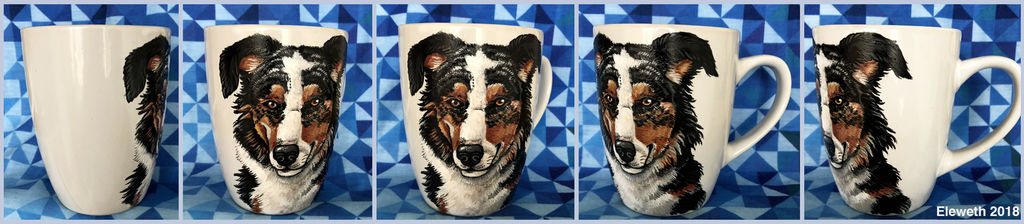 Painted mug: Zoey