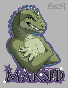 Badge: Maksio commission