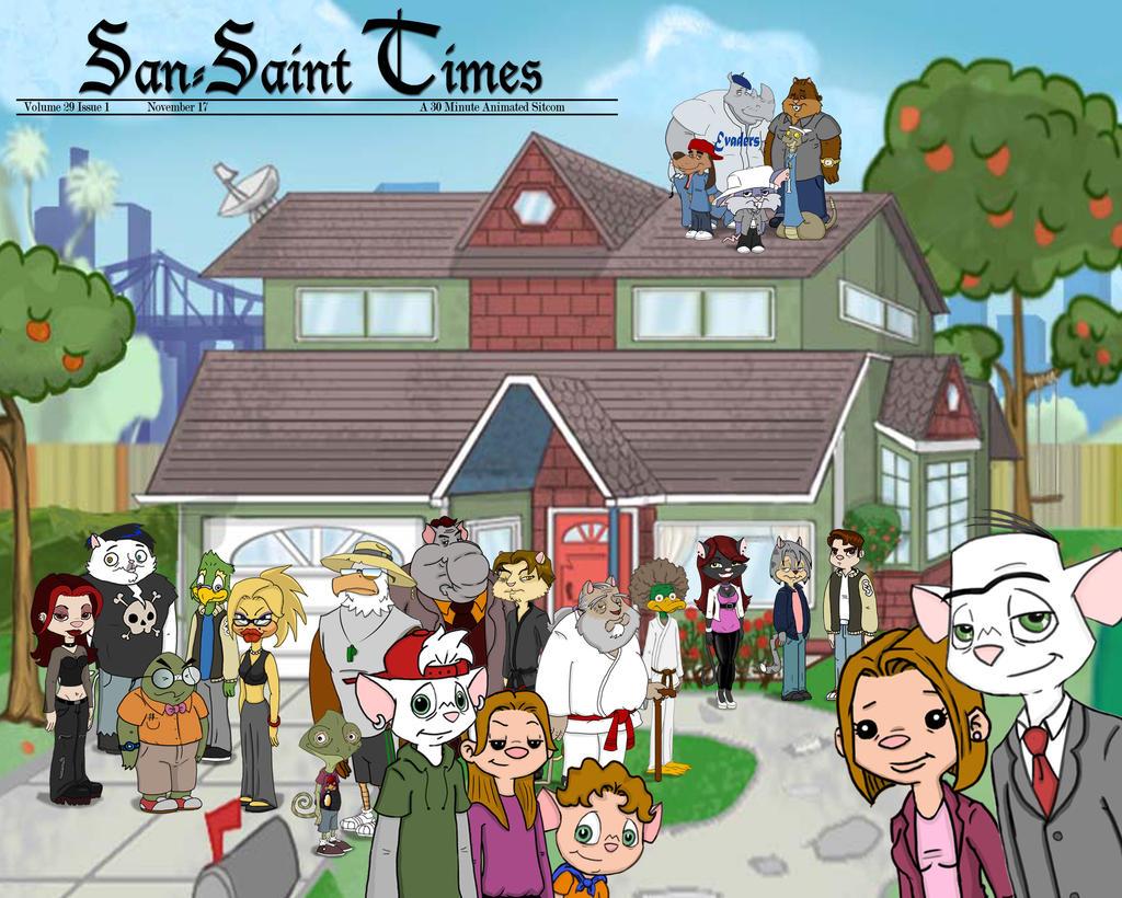 San Saint Cast