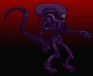 Giger Alien by MKnapik