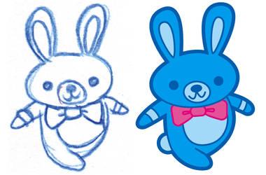 Kawaii Bunny by MKnapik