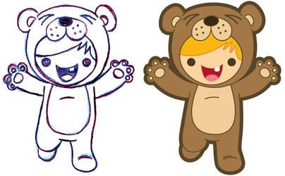 Bear Boy by MKnapik