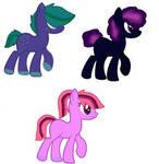 Pony adopts 3/3 open