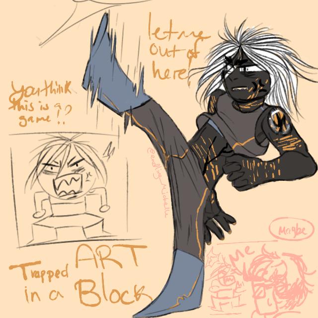 Artblock with Nuumite 2 by firewolf2007