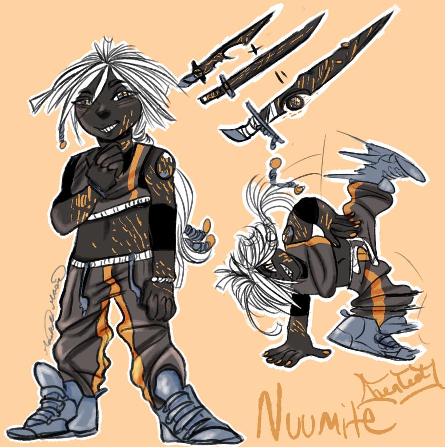 Nuumite Fully healed by firewolf2007