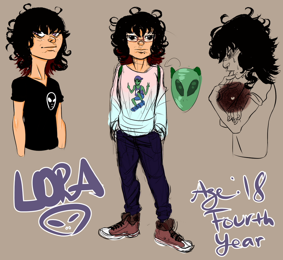 Rough Sheet of Lora by CuernosBeste