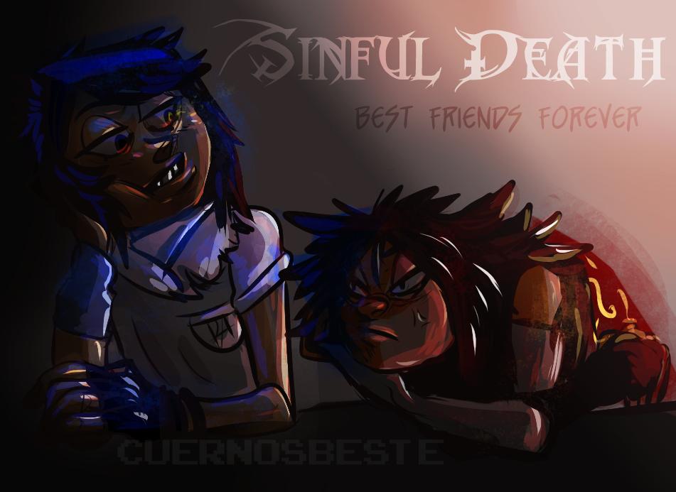 Sinful Death- Friends till' death by CuernosBeste