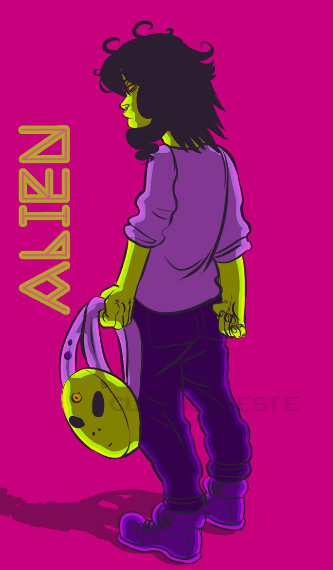 alien by CuernosBeste