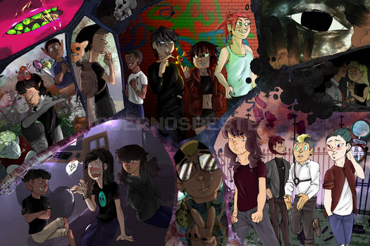 Collage of OCs