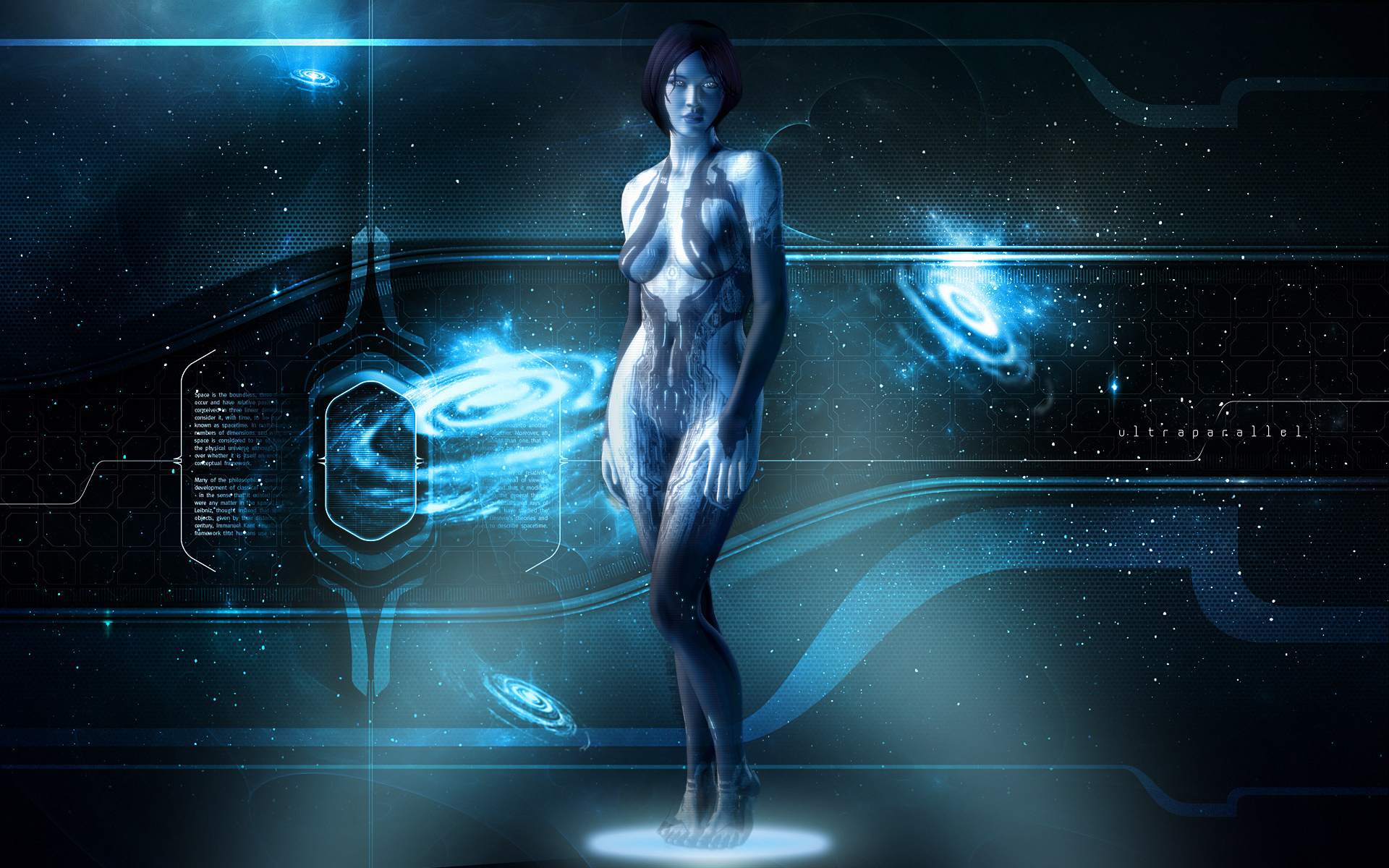Cortana wallpaper by SweShadow90