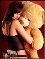 Love Sick Teddy Bear by fkh