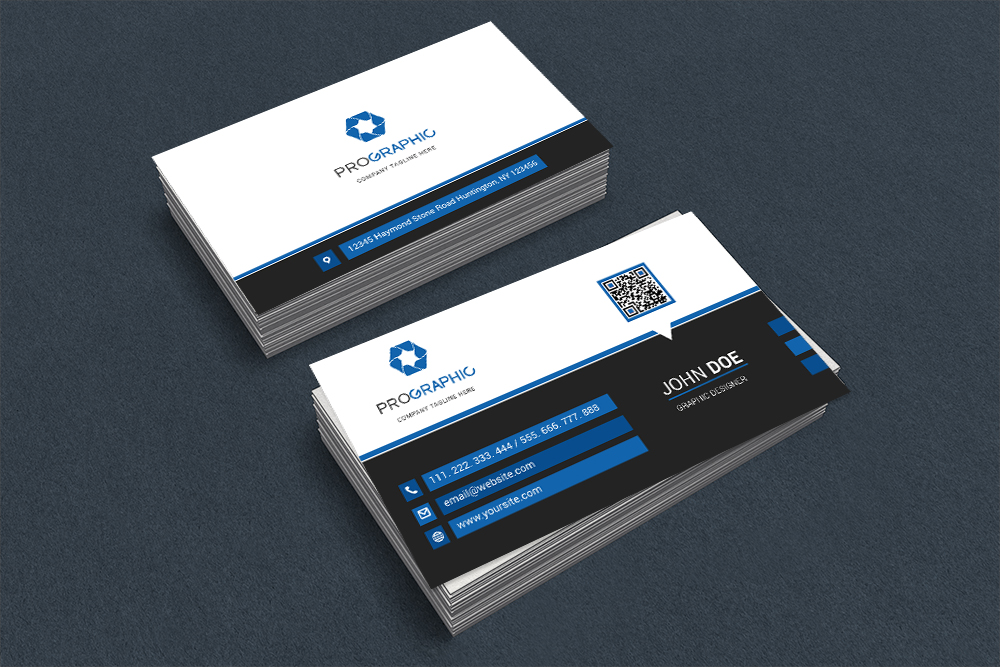 Free Clean Business Card Template PSD 2 by evagraphic on DeviantArt