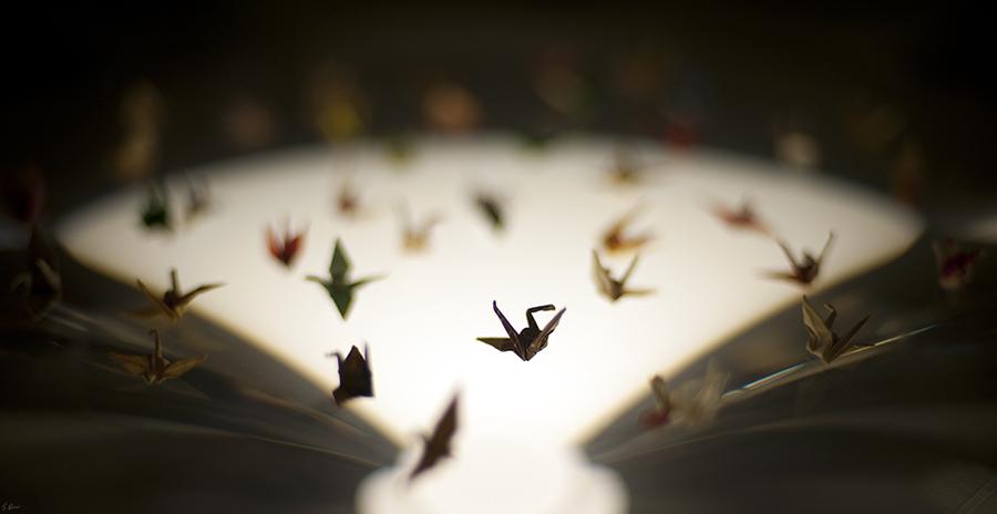 Sadako's Cranes by heeeeman