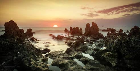 Vestey's Beach Sunset