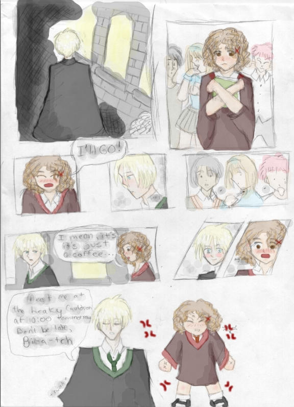 Hermione And Draco Fan Art