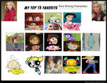My Top 13 Favorite Tara Strong Characters