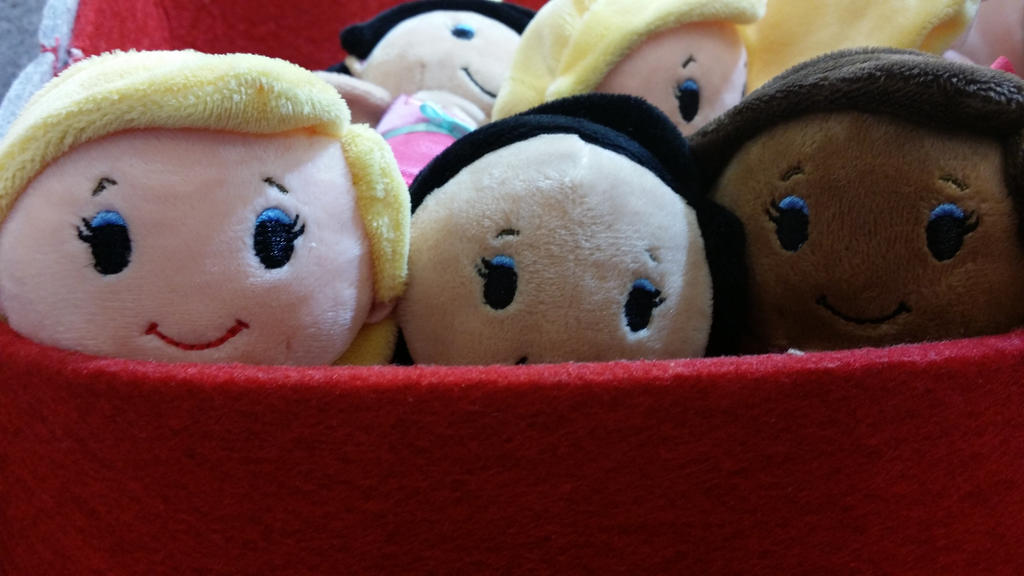 Barbie Itty Bittys By Mileymouse101 On DeviantArt