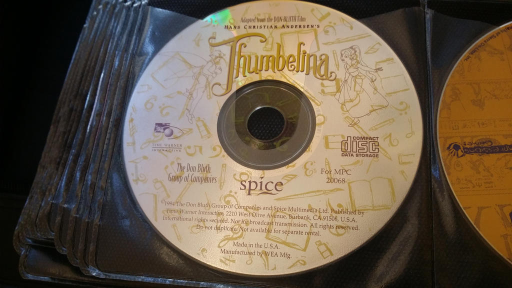Thumbelina CD-Rom by Mileymouse101 on DeviantArt