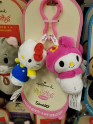Hello Kitty And My Melody Clippys by Mileymouse101