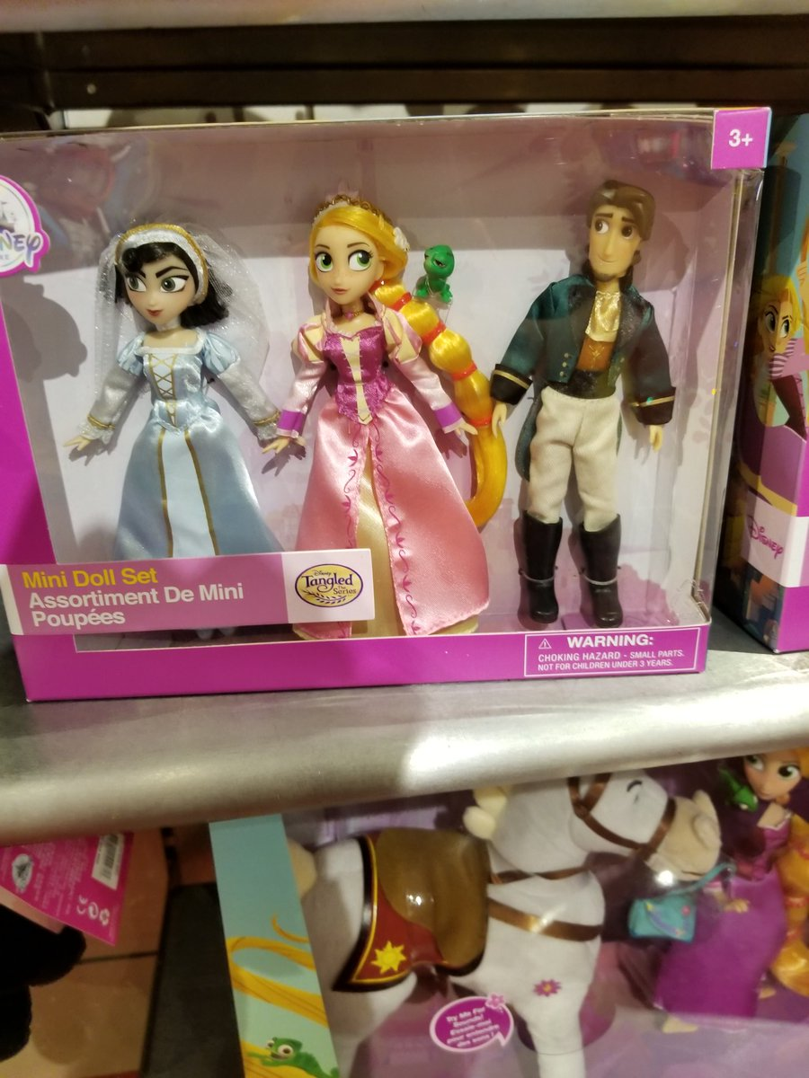 Tangled The Series Mini Doll Set By Mileymouse101 On Deviantart