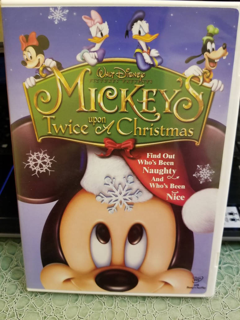 Mickey Mouse Twice Upon A Christmas.Mickey S Twice Upon A Christmas Dvd By Mileymouse101 On