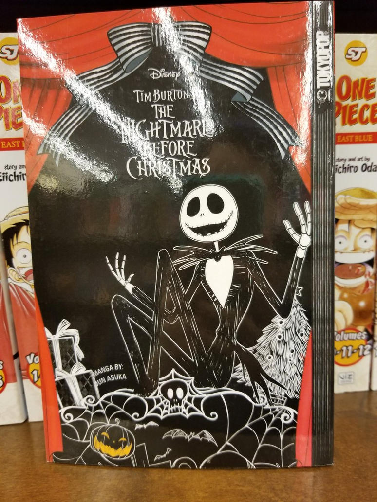 The Nightmare Before Christmas Manga by Mileymouse101 on DeviantArt