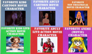 My Favorite Types Of Movie Characters