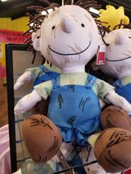 Pig-Pen Plushie by Mileymouse101