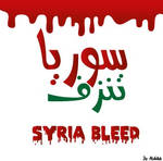 syria bleed