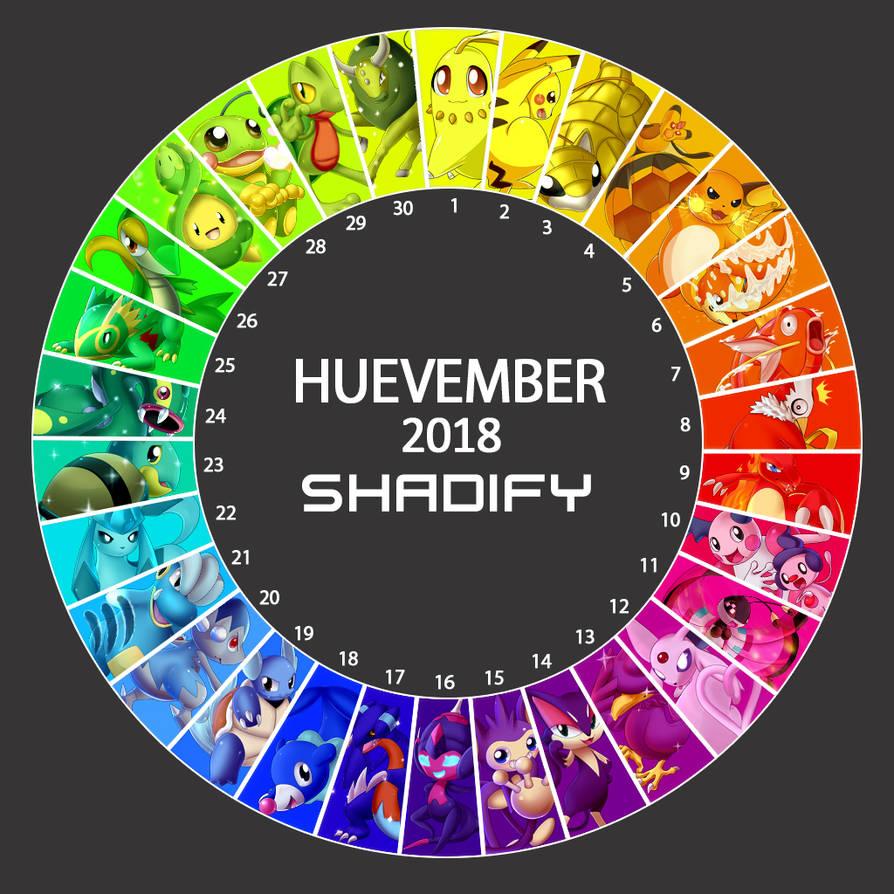 Huevember 2018. Done.