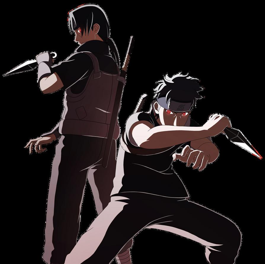 Itachi and Shisui Render by andonovmarkoShisui Uchiha And Itachi