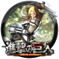Attack on Titan - Wings of Freedom icon v8 by andonovmarko