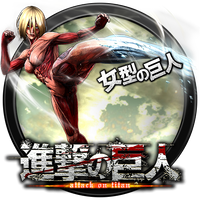 Attack on Titan - Wings of Freedom icon v33 by andonovmarko