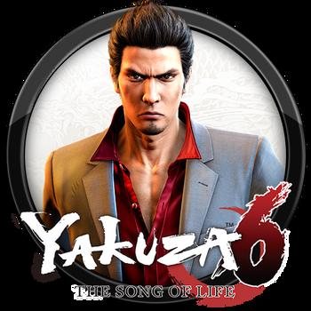 Yakuza 6 - The Song of Life Icon by andonovmarko