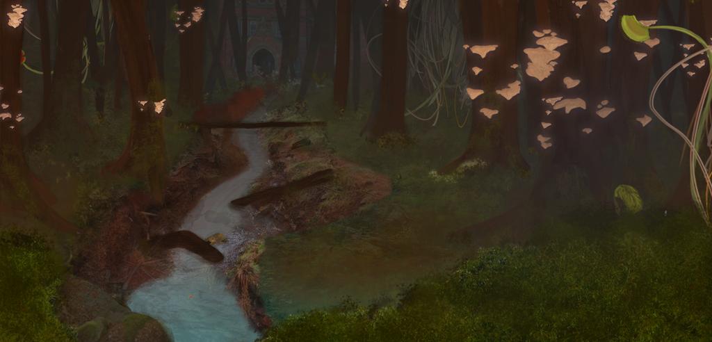 Mushroom Forest by XxFree-SpiritxX