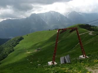 mountain by infestedkarigan